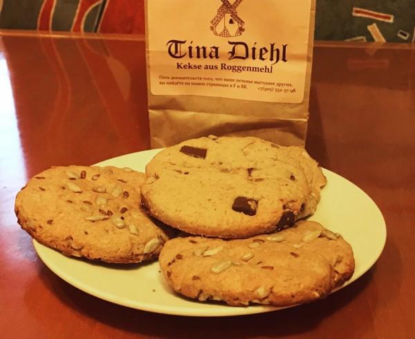 Печенье из ржаной муки Tina Diehl